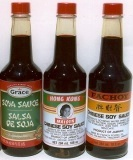 Chinese soy sauces from the Caribbean.