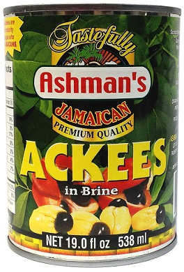 ASHMAN'S PREMIUM JAMAICAN ACKEES 19 OZ 