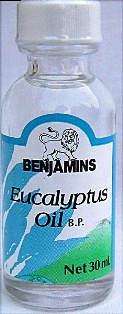 BENJAMINS EUCALYPTUS OIL 30ML 