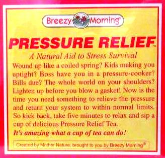 BREEZY MORNING PRESSURE RELIEF TEA BAGS 