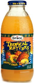 GRACE TROPICAL RHYTHMS PINEAPPLE GINGER 16 OZ. 