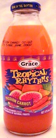 GRACE TROPICAL RHYTHMS PASSION CARROT 16 OZ 