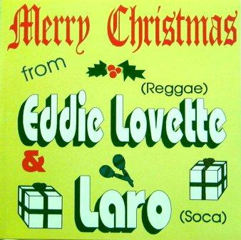 MERRY CHRISTMAS / EDDIE LOVETTE & LORD LARO 