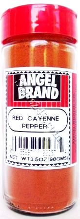 ANGEL BRAND RED CAYENNE PEPPER 3.5 OZ. 