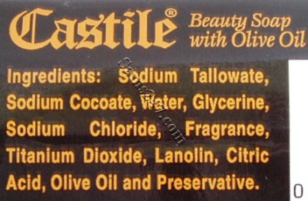 CASTILE BEAUTY SOAP 125 G 