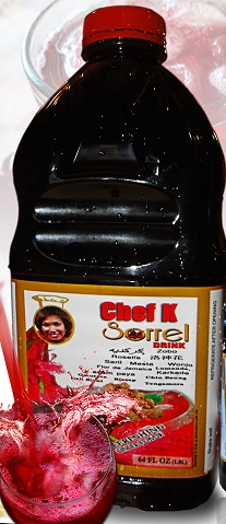 CHEF K SORREL DRINK 64oz 