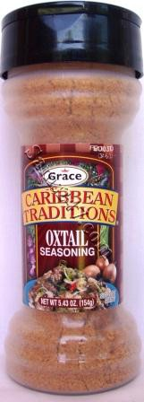GRACE CARIBBEAN TRADITIONS OXTAIL SEASONING 4 OZ 