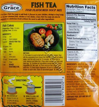 GRACE FISH TEA SOUP MIX 