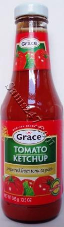 GRACE TOMATO KETCHUP MILD 13.5 OZ. 