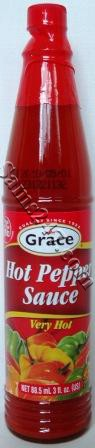 GRACE ORIGINAL HOT PEPPER SAUCE 3 OZ. 
