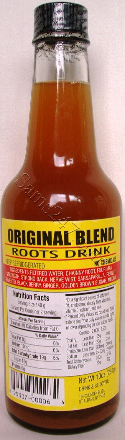 ORIGINAL BLEND ROOTS DRINK 10 OZ. 