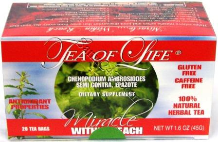 TEA OF LIFE (SEMI CONTRA) 20 TEA BAGS 