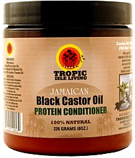 TROPIC ISLE GLOWRIOUS CROWN PROTEIN HAIR CONDITIONER 8 0Z. 