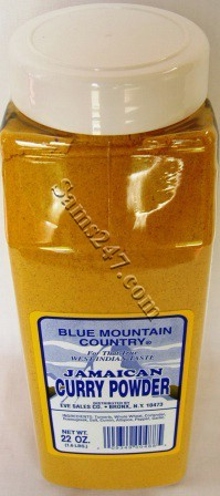 BLUE MOUNTAIN CURRY 22 OZ. 