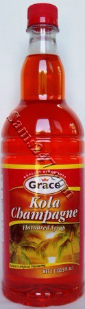 GRACE KOLA CHAMPAGNE SYRUP 1 LTR. 