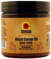 TROPIC ISLE JAMAICAN BLACK CASTOR OIL HAIR FOOD POMADE 4 OZ X 12  