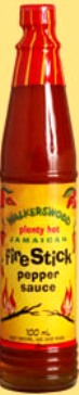 WALKERSWOOD FIRE STICK PEPPER SAUCE 6 OZ. 
